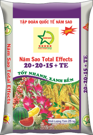 Năm Sao Total Effects  20-20-15+TE